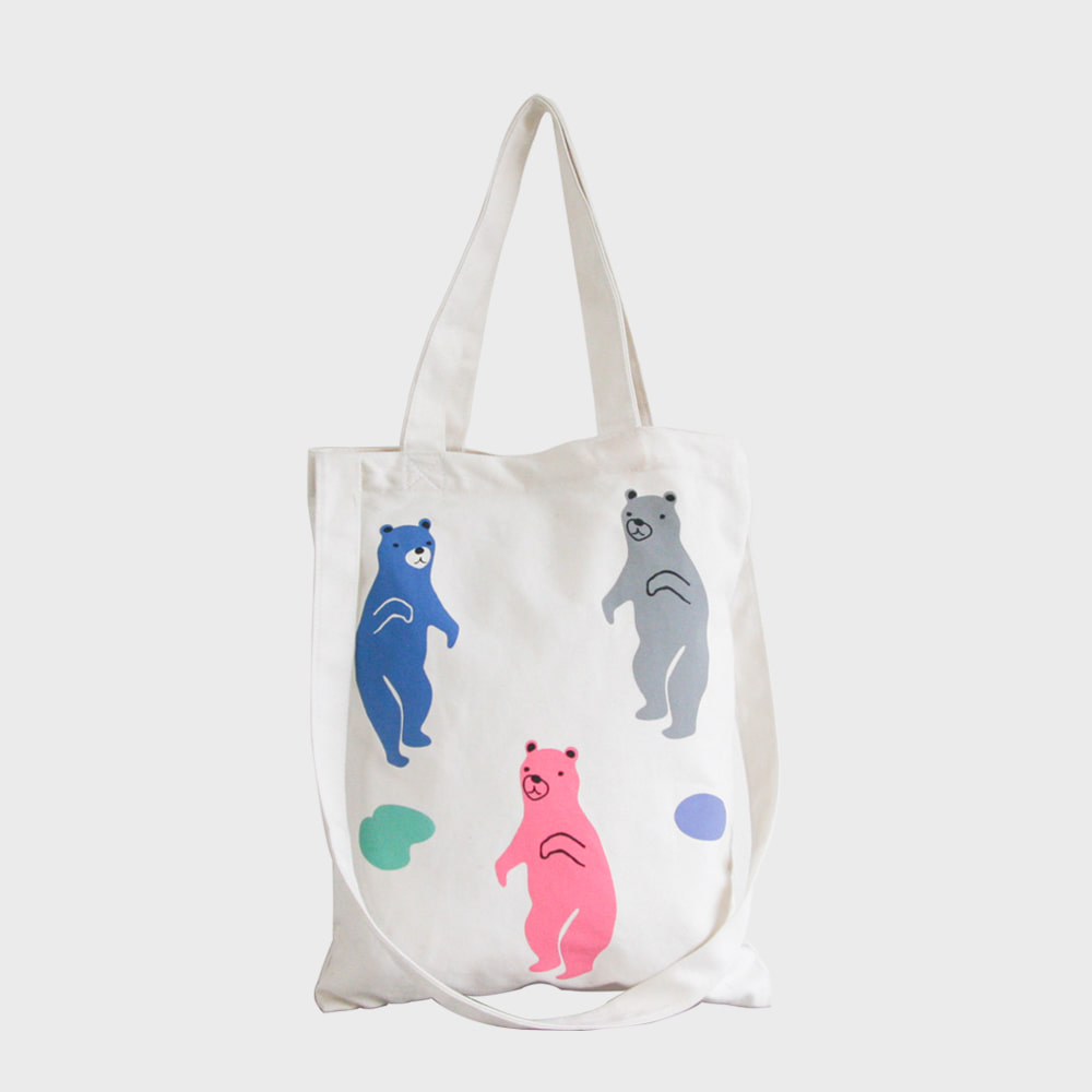 Ogram Jelly Bear Eco Bag in Ivory