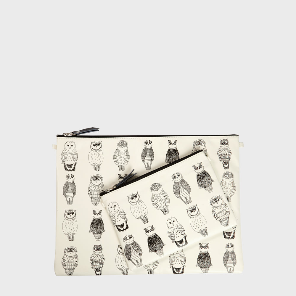 Ogram Owl Owl Pouch in Medium or Big