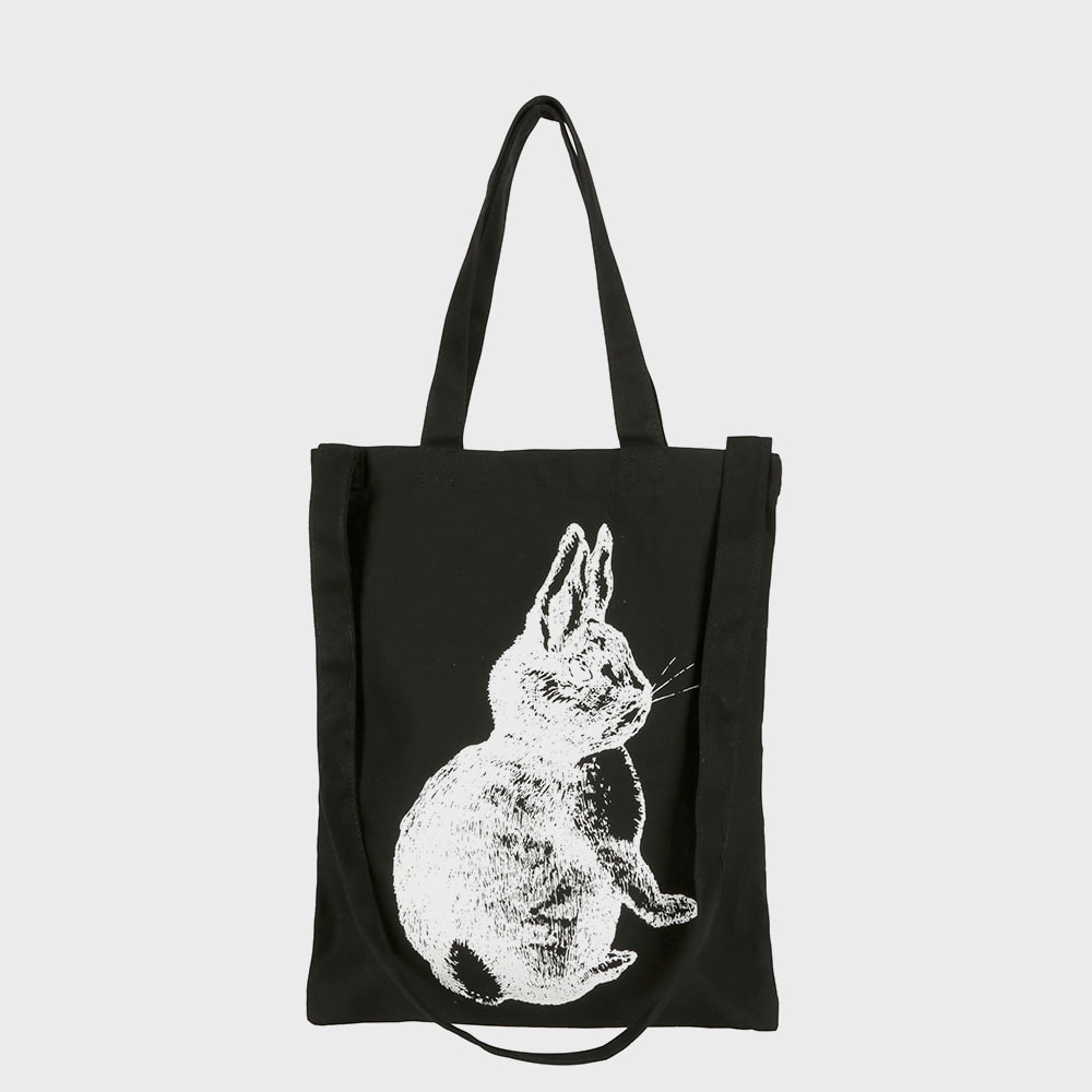 Ogram Rabbit Eco Bag in Black