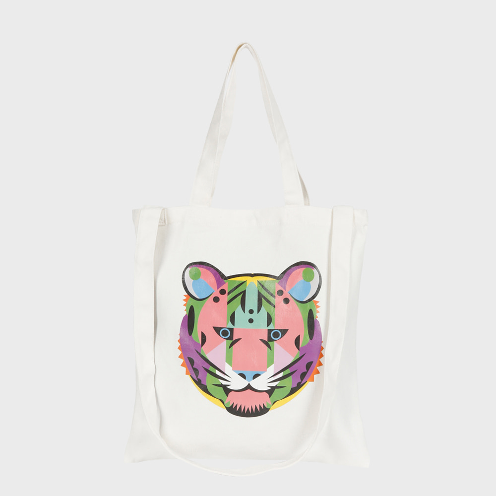 Ogram Growl Eco Bag in White