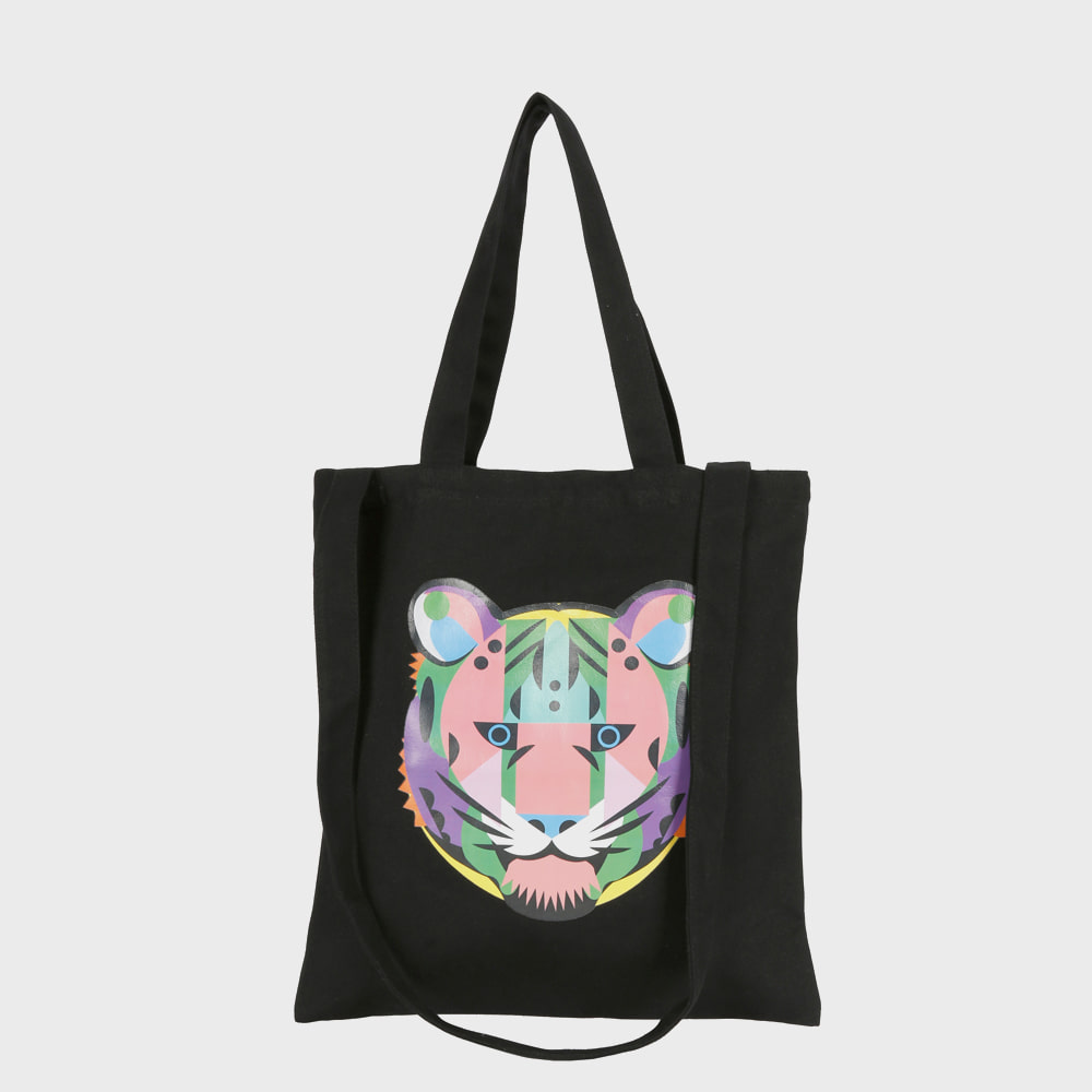 Ogram Growl Eco Bag in Black