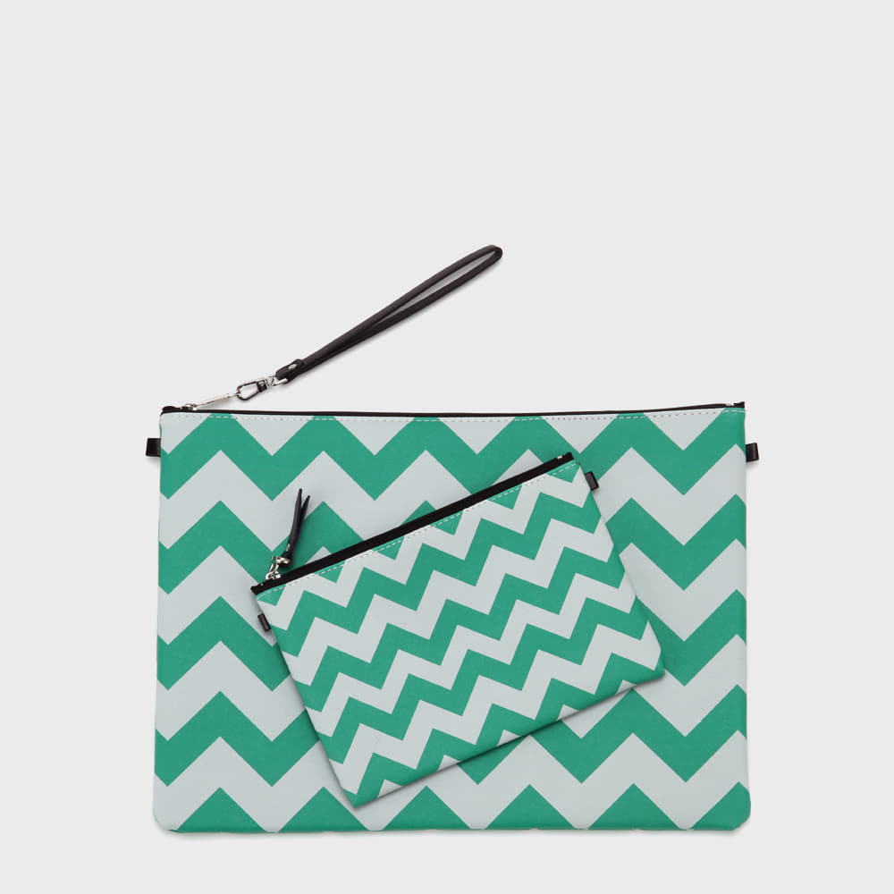 Ogram Unique Momo Pouch in Medium or Big - Green