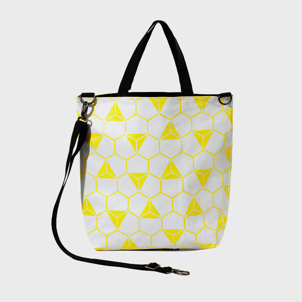 Ogram Pentagon Crossbody Bag