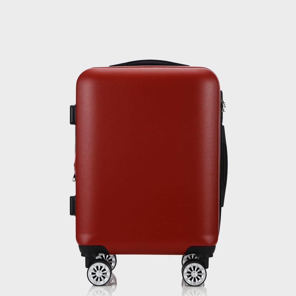 LT CARBON Travel Luggage 20-, 25-inch in Red