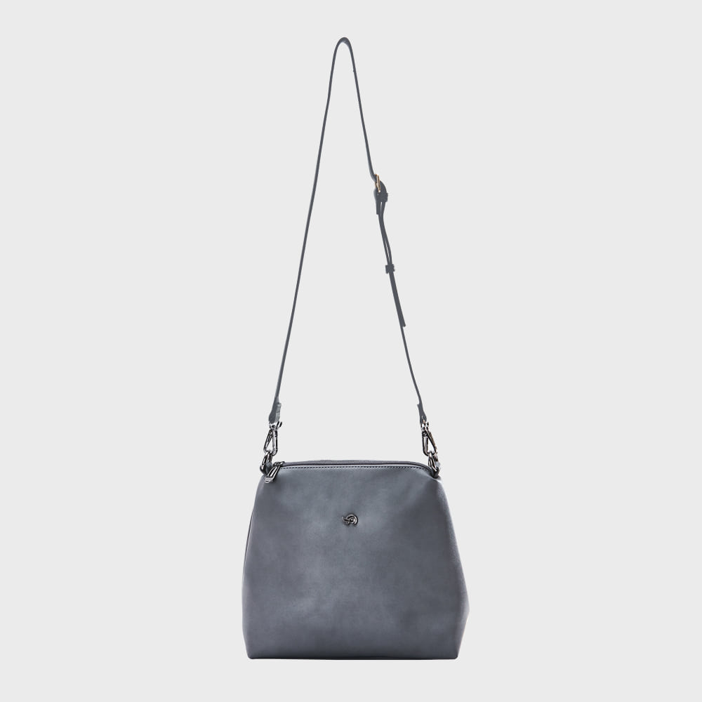 Ogram Mini Join Crossbody Bag in Grey