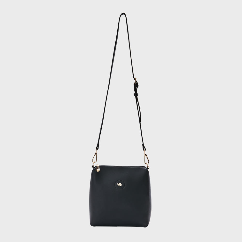 Ogram Mini Softly Crossbody Bag in Black