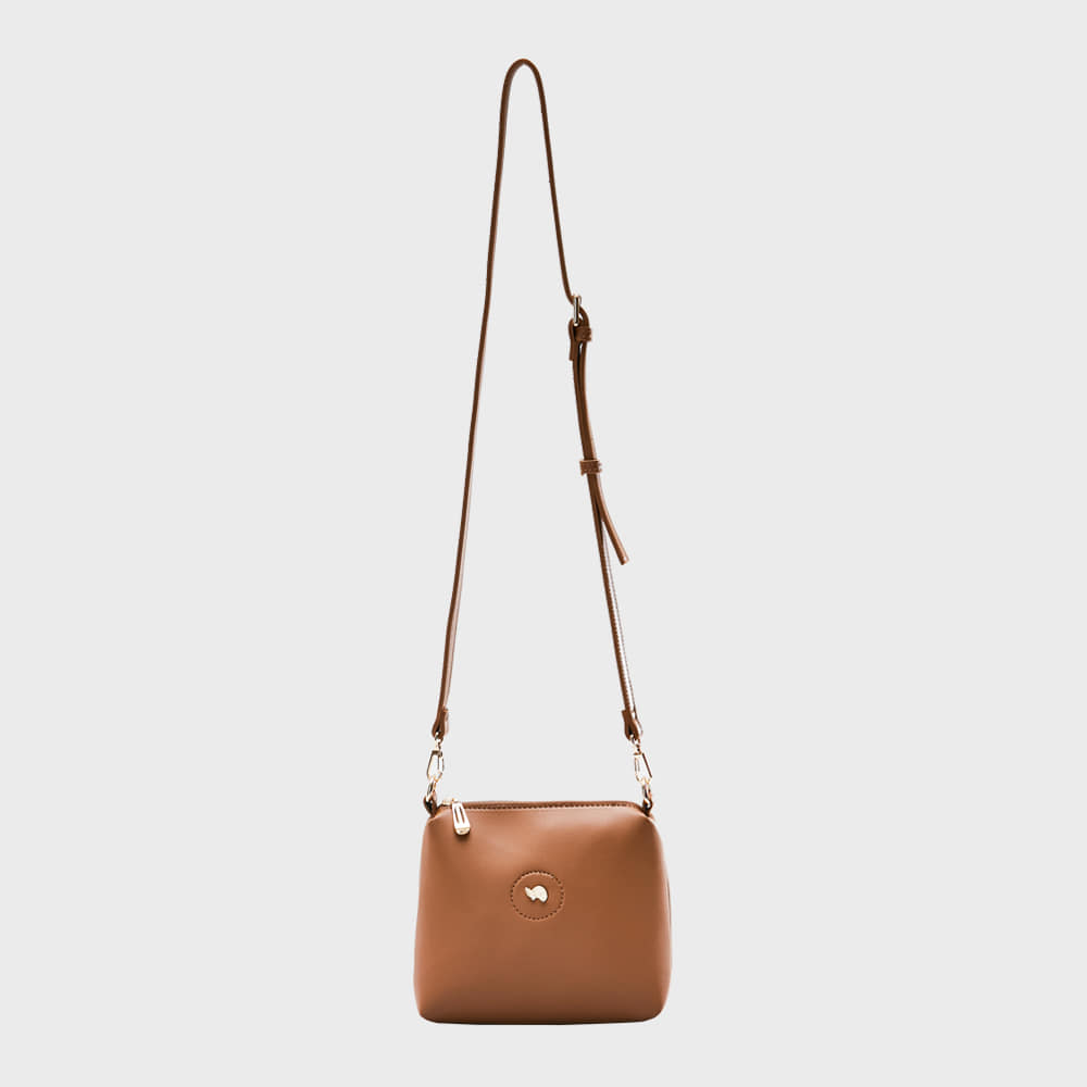 Ogram Mini Mia Crossbody Bag in Brown