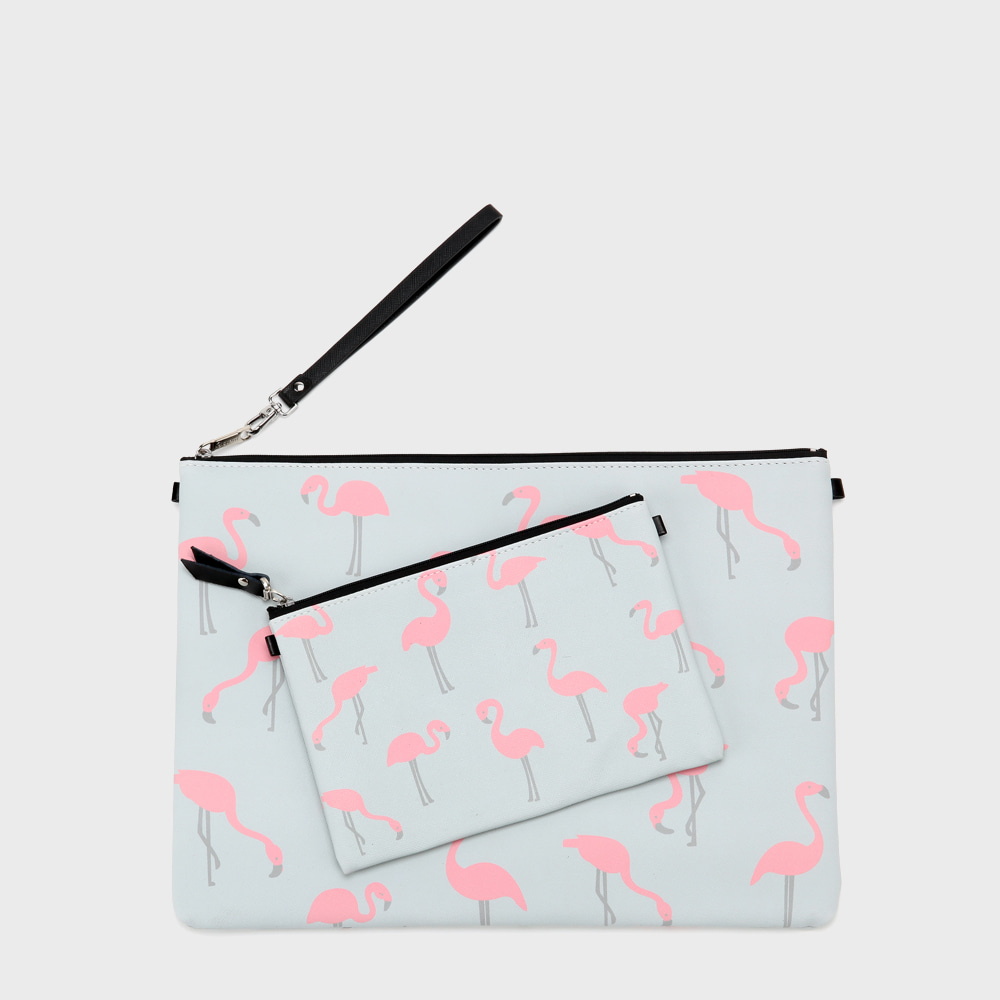 Ogram Flamingo Pouch in Medium or Big
