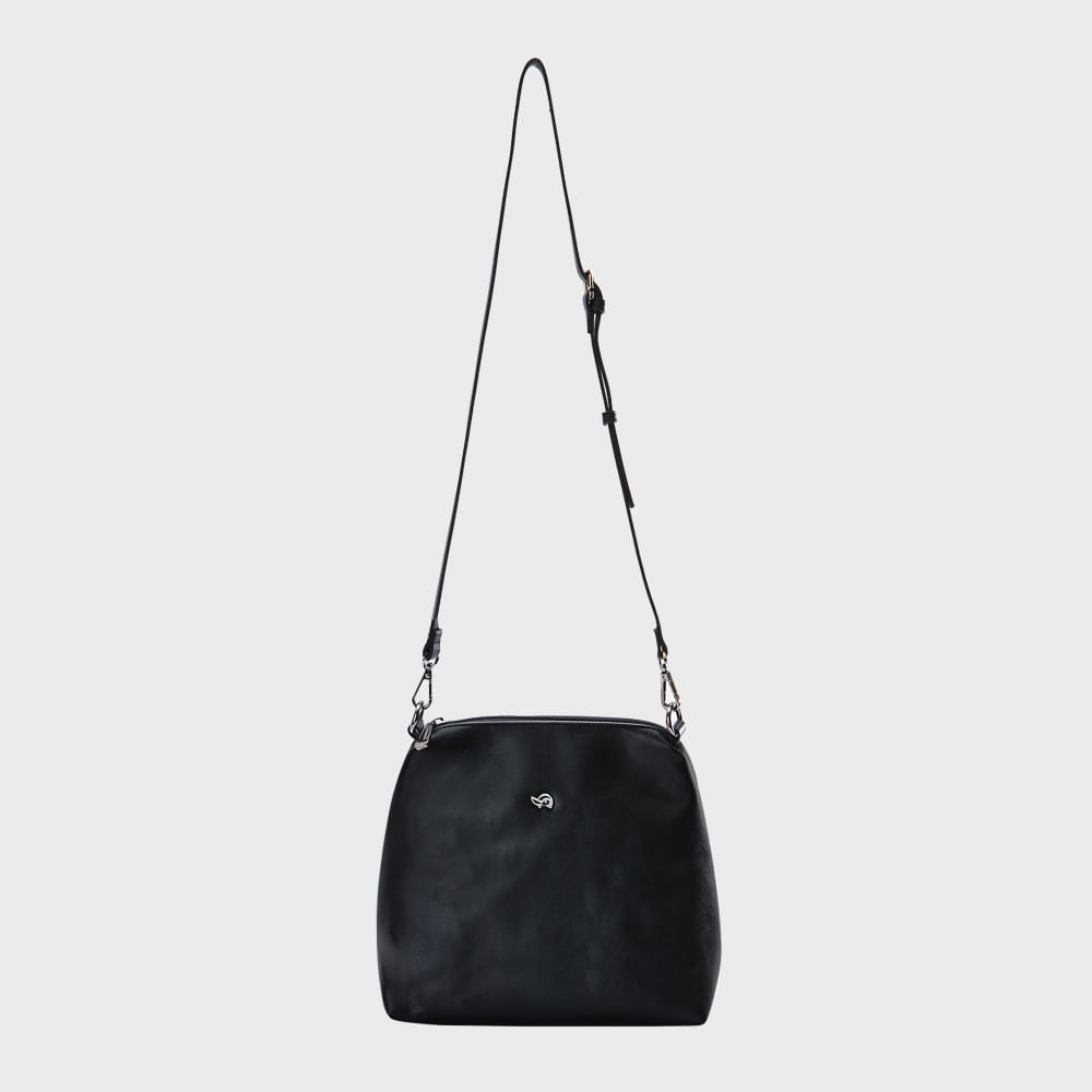 Ogram Mini Join Crossbody Bag in Black