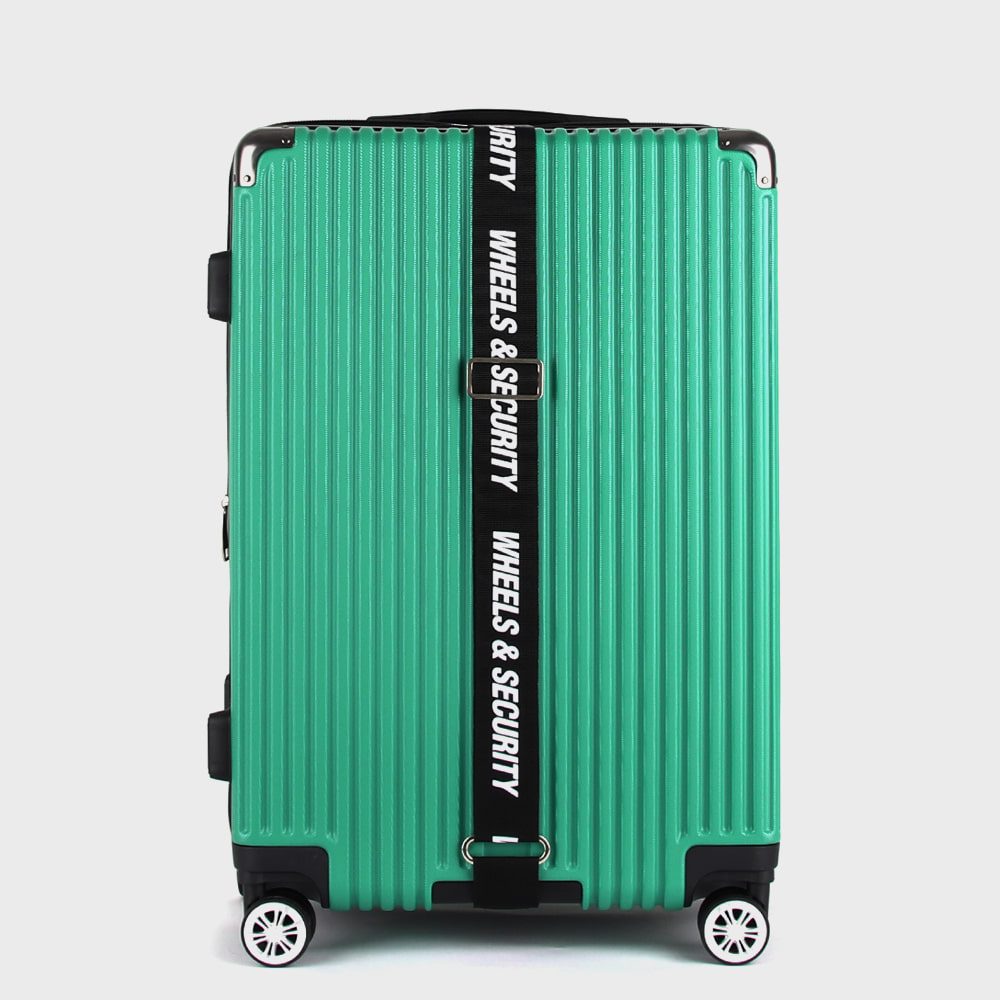 Ogram Wheel Master PC Hard Suitcase 20 inch 24 inch 28 inch Carrier Green