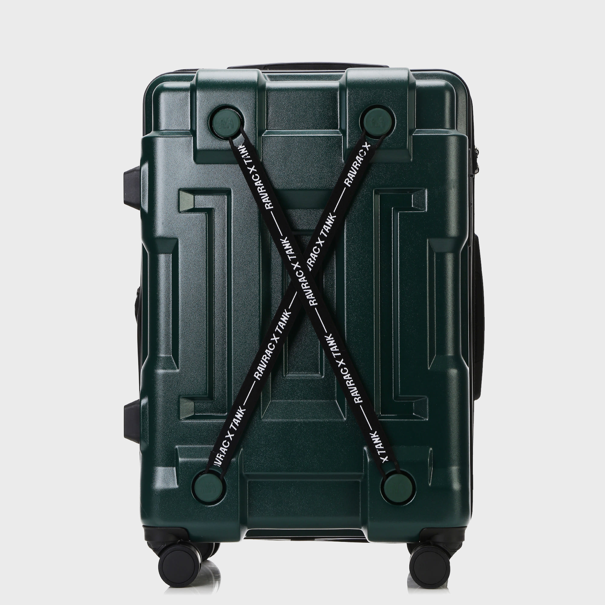 Ogram Tank PC Hard Suitcase 20 '' 24 '' 28 '' Carrier Black