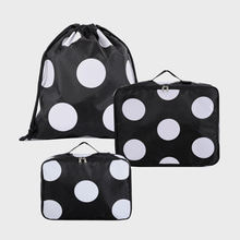 Ogram 3-Piece Packing Cube in Polka Dots